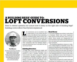 guide for loft conversions